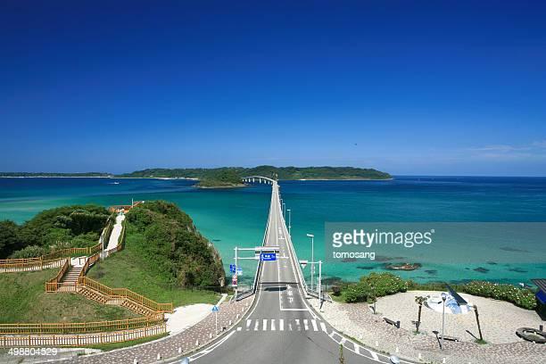 tsunoshima bridge - 山口県 ストックフォトと画像