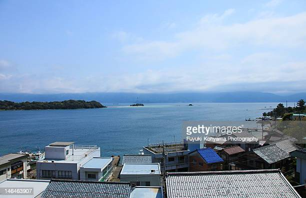 tsuruga bay - hokuriku region stock photos and pictures