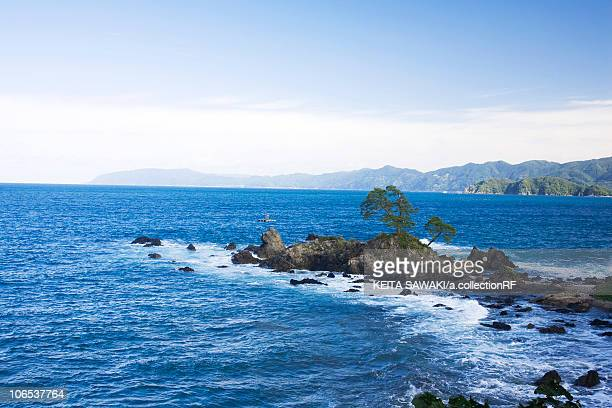 tsuruga harbor and sea of japan, fukui prefecture, honshu, japan - fukui prefecture - fotografias e filmes do acervo