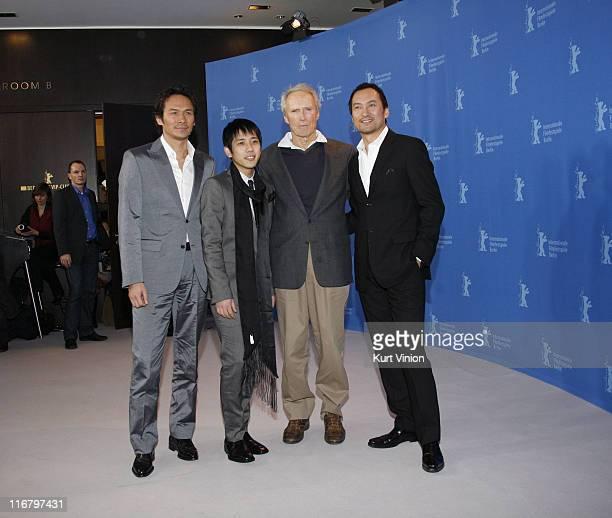 Tsuyoshi Ihara, Kazunari Ninomiya, Clint Eastwood and Ken Watanabe