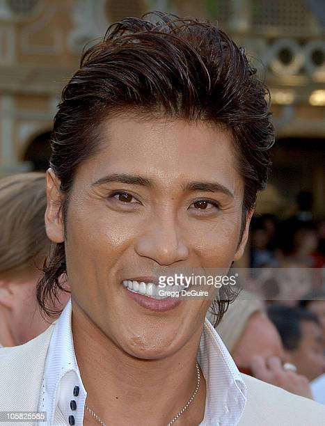 Tsuyoshi Shinjo during 'Pirates of the Caribbean At World's End' World Premiere Arrivals at Disneyland in Anaheim California United States
