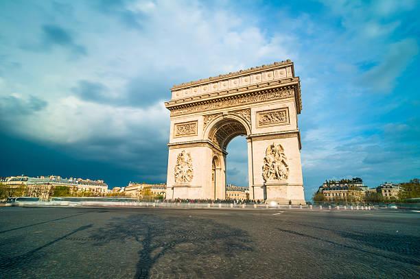 """""""Tthe Arc De Triomphe, Paris"""" Wall Art"""