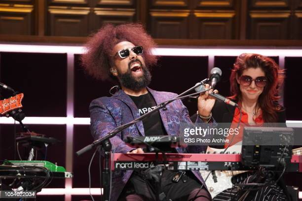 TThe Late Late Show with James Corden airing Monday October 22 Reggie Watts and Hagar Ben Ari perform