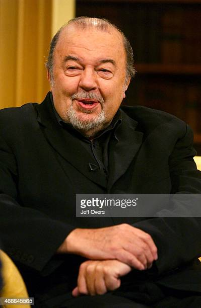Ttheatre director Sir Peter Hall appearing on Breakfast with Frost