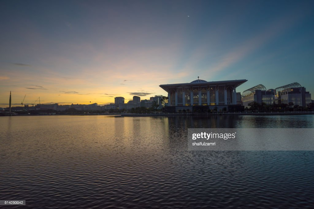 Tuanku Mizan Zainal Abidin Mosque : Stock Photo