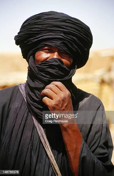 Tuareg man in turban.