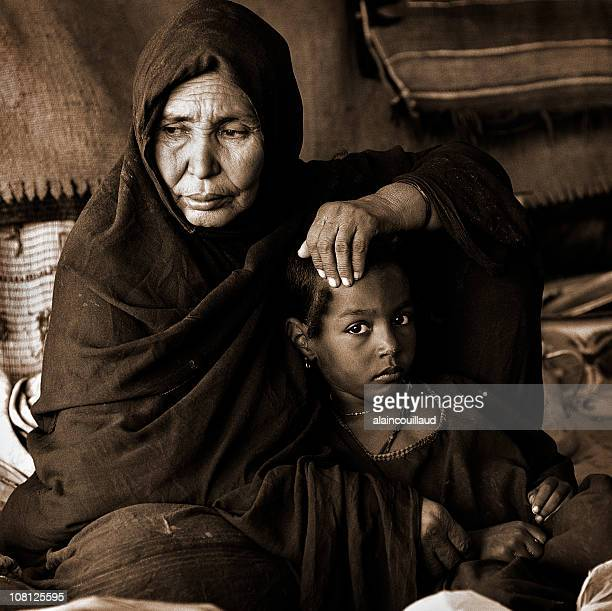 Tuareg mother and daughter