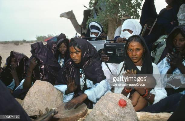Tuareg Wedding Ceremony, Niger , This Nomadic Tribe Still Make A Living As Traders,