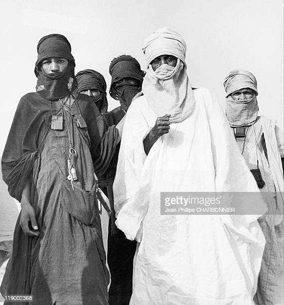 Tuaregs Around Their Camp