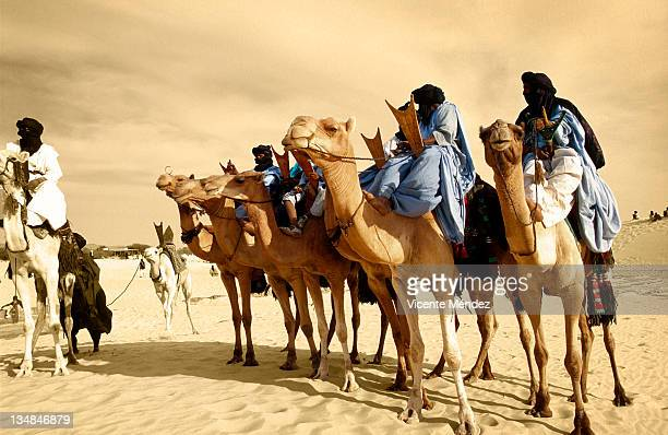 Tuaregs mounnted