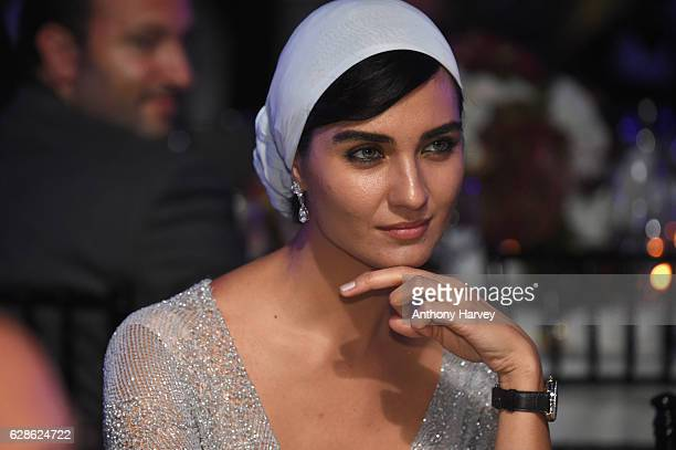 Tuba Buyukustun Actress and IWC brand ambassador attends the fifth IWC Filmmaker Award gala dinner at the 13th Dubai International Film Festival...