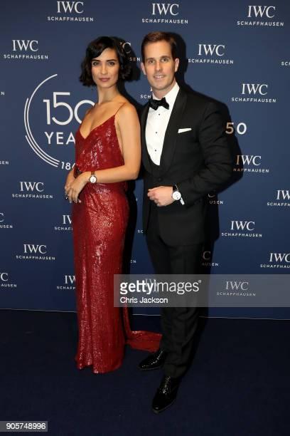 Tuba Buyukustun and IWC Schaffhausen CEO Christoph GraingerHerr attend the IWC Schaffhausen Gala celebrating the Maison's 150th anniversary and the...