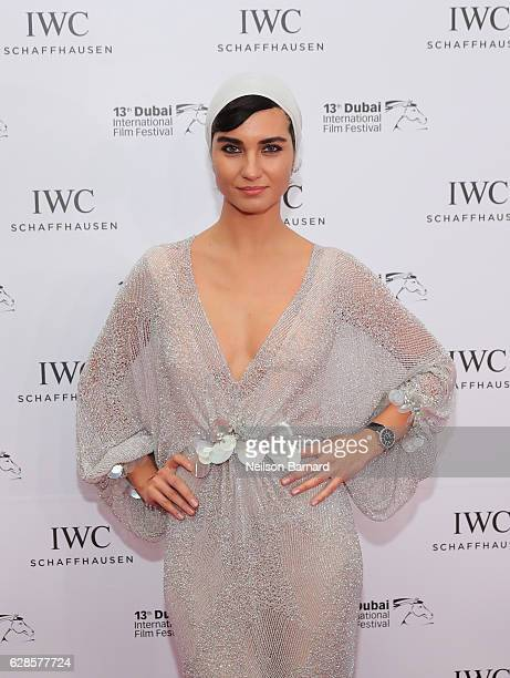 Tuba Buyukustun attends the IWC Filmmaker Award during day two of the 13th annual Dubai International Film Festival held at the One and Only Hotel on...