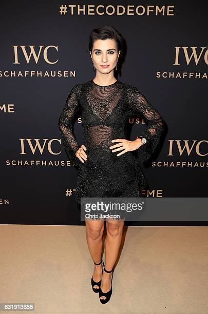 Tuba Buyukustun attends the IWC Schaffhausen 'Decoding the Beauty of Time' Gala Dinner during the launch of the Da Vinci Novelties from the Swiss...