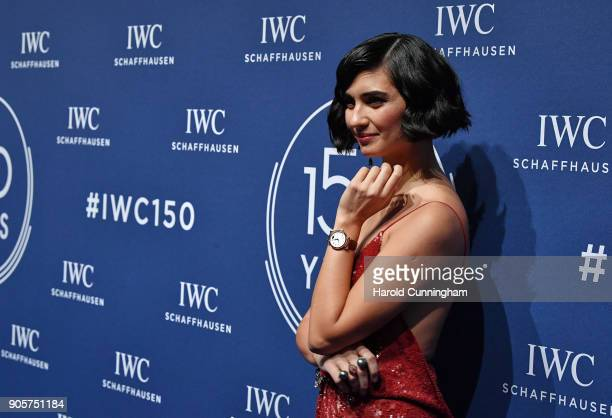 Tuba Buyukustun attends the IWC Schaffhausen Gala celebrating the Maisonís 150th anniversary and the launch of its Jubilee Collection at the Salon...