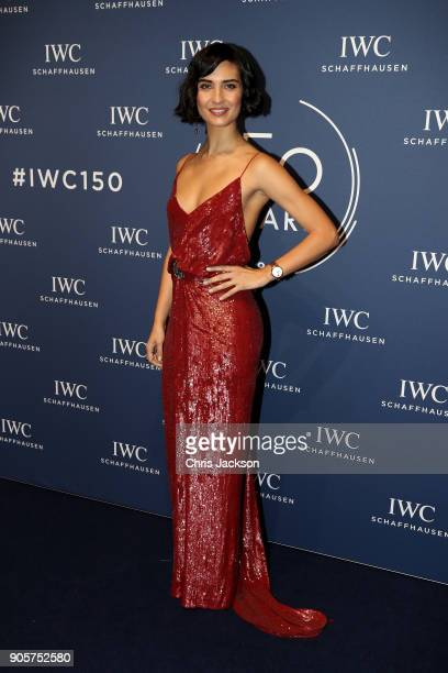 Tuba Buyukustun attends the IWC Schaffhausen Gala celebrating the Maison's 150th anniversary and the launch of its Jubilee Collection at the Salon...