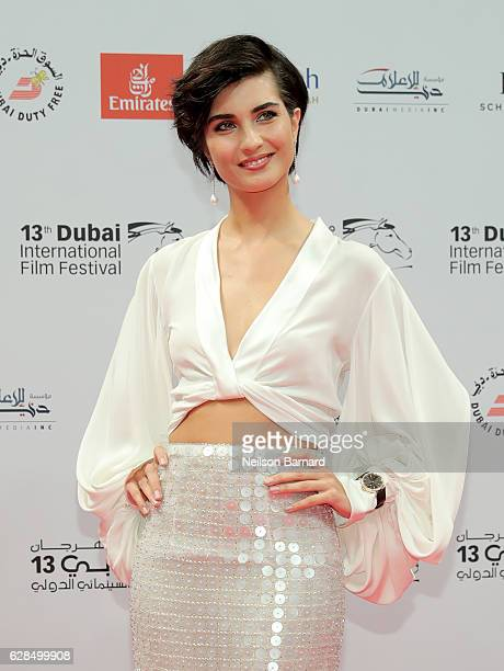 Tuba Buyukustun attends the Opening Night Gala during day one of the 13th annual Dubai International Film Festival held at the Madinat Jumeriah...