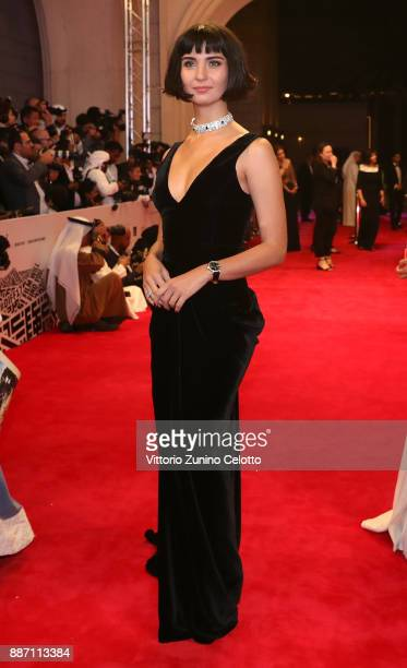 Tuba Buyukustun attends the Opening Night Gala of the 14th annual Dubai International Film Festival held at the Madinat Jumeriah Complex on December...