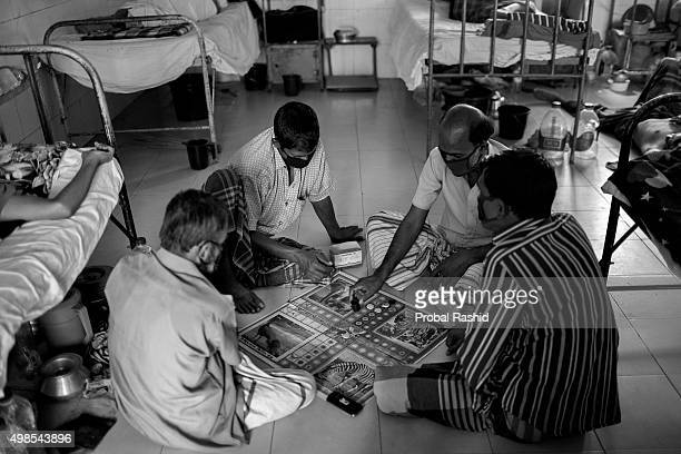 Tuberculosis patients play ludo games at National Institute of Diseases of Chest and Hospital on World Tuberculosis Day in Dhaka Tuberculosis is a...