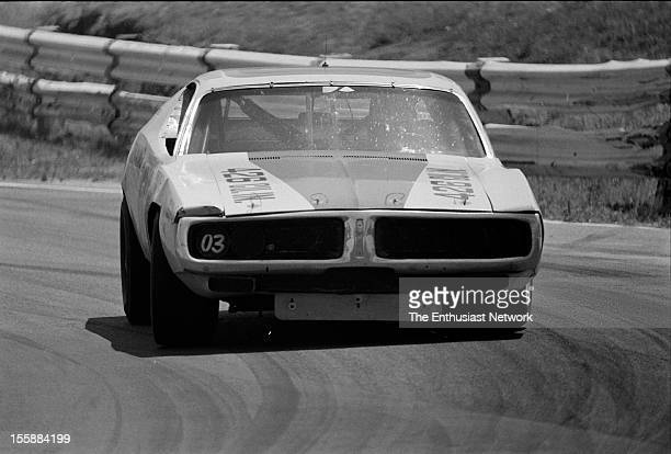 Tuborg 400 Riverside Chuck Bown driving his 1972 Dodge Charger Bown would fail to finish the race due to a mechanical issue