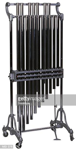 tubular bells/chimes - tubular bells stock pictures, royalty-free photos & images