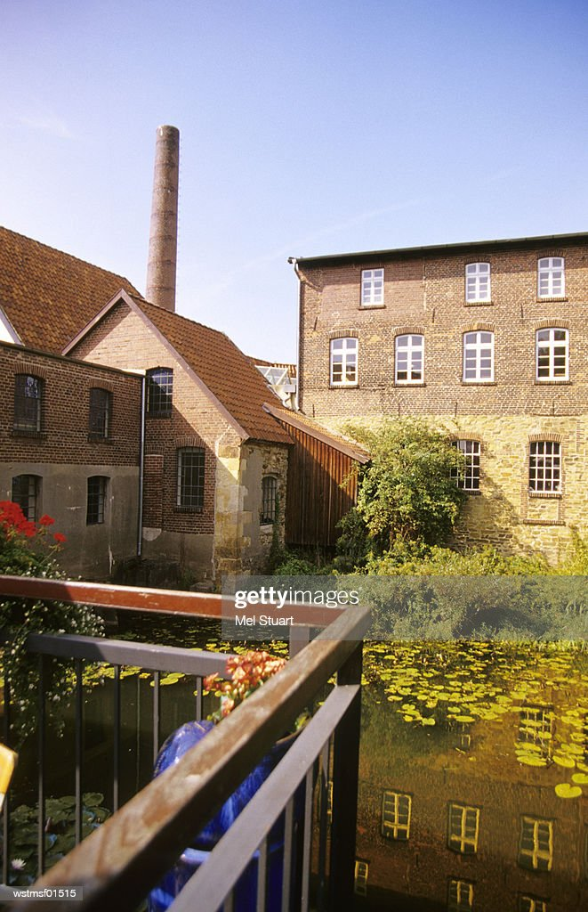 Tuchmacher museum in former cloth factory, Bramsche, Osnabr?cker country, Germany : Foto stock