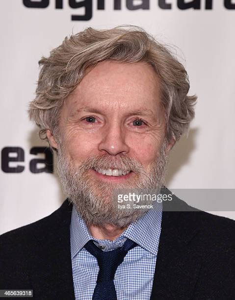 Tuck Millingan attends 'The Liquid Plane' Opening Night Party at Signature Theatre Company's The Pershing Square Signature Center on March 8 2015 in...