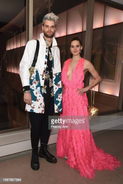 Tucker Halpern and Sophie HawleyWeld during Republic Records Grammy after party at Spring Place Beverly Hills on February 10 2019 in Beverly Hills...