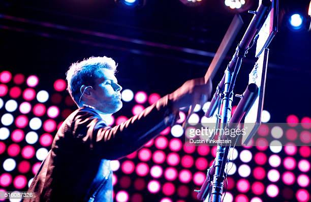 Tucker Halpern of Sofi Tukker performs onstage at the KCRW music showcase during the 2016 SXSW Music Film Interactive Festival at 3TEN Austin City...