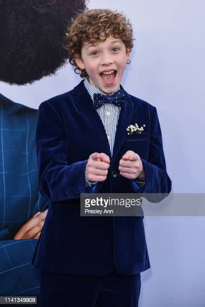 Tucker Meek attends The Premiere Of Universal Pictures Little at Regency Village Theatre on April 08 2019 in Westwood California