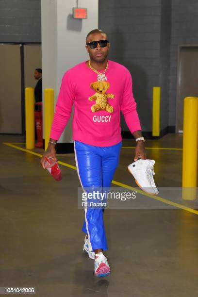 Tucker of the Houston Rockets arrives before the game against the LA Clippers on October 26 2018 at the Toyota Center in Houston Texas NOTE TO USER...