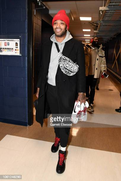 Tucker of the Houston Rockets arrives prior to a game against the Denver Nuggets on November 13 2018 at Pepsi Center in Denver Colorado NOTE TO USER...