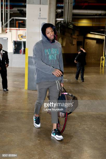 Tucker of the Houston Rockets arrives to the arena prior to the game against the New Orleans Pelicans on March 17 2018 at the Smoothie King Center in...