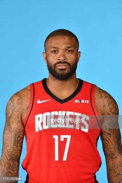 Tucker of the Houston Rockets poses for a head shot during media day on September 27, 2019 at The Post Oak Hotel in Houston, Texas. NOTE TO USER:...