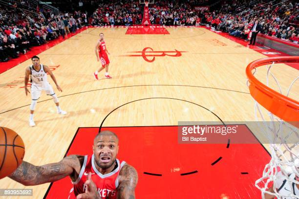 Tucker of the Houston Rockets shoots the ball against the Milwaukee Bucks on December 16 2017 at the Toyota Center in Houston Texas NOTE TO USER User...