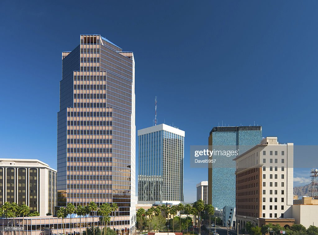Tucson Downtown buildings : Stock Photo