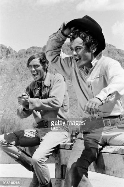 CHAPARRAL Tucson Press Junket Pictured Ted Markland as Reno and Jerry Summers as Ira Bean