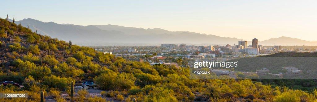 Tucson Skyline : Stock Photo