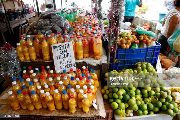 Tucupi sauce at Ver-O-Peso Fair