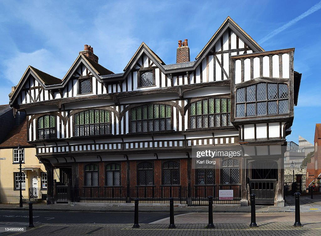 Tudor house : Stock Photo