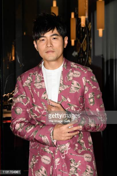 Tudor photo call with brand ambassador Jay Chou at Baselworld 2019 on March 20, 2019 in Basel, Switzerland.