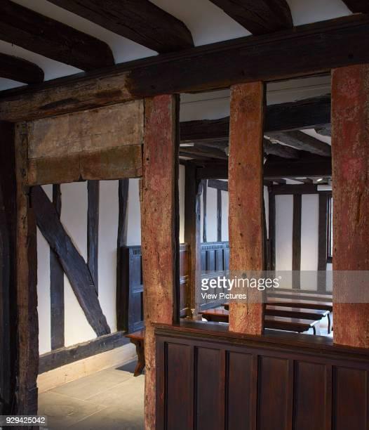 Tudor style partition Shakespeare's Schoolroom StratforduponAvon United Kingdom Architect Wright Wright Architects LLP 2016