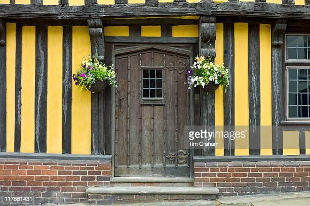 Tudor style timberframed house in Ludlow Shropshire UK