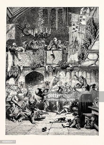 Christmas Revels In The Baronial Hall