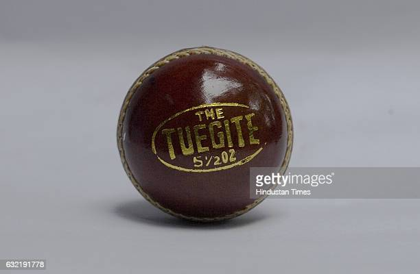 Tuegite Brown leather Cricket ball
