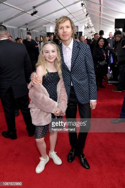 Tuesday Hansen and Beck attend the 61st Annual GRAMMY Awards at Staples Center on February 10 2019 in Los Angeles California