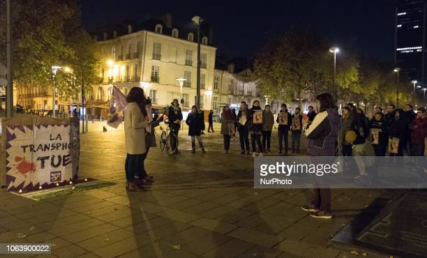 Tuesday November 20 2018 about fifty people gathered in front of the Prefecture of Nantes France to commemorate the Transgender Day of Remembrance to...