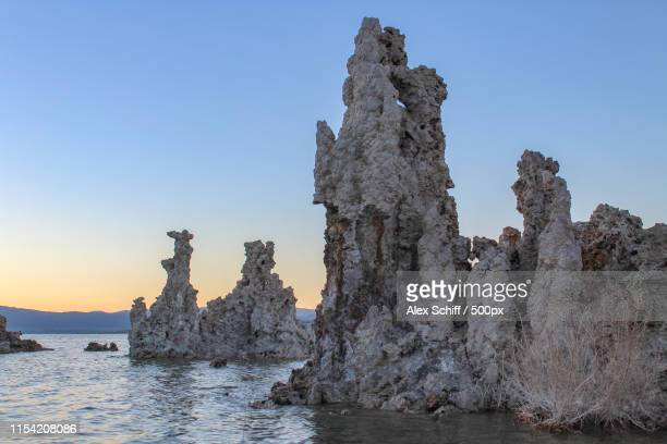 tufa at dusk - schiff stock photos and pictures