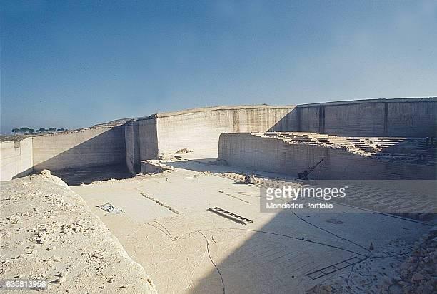 Tuff quarry Matera 1978