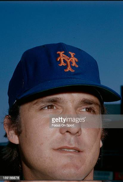 Tug McGraw of the New York Mets poses for this portrait before an Major League Baseball game circa 1974 at Shea Stadium in the Queens borough of New...
